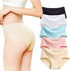 Women Soft Underpants Seamless Lingerie Briefs Hipster Underwear Panties Sexy Dw