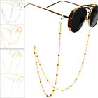 Eyeglass Chains for Women Beaded Reading Glasses Cords Sunglasses Strap Gold image