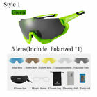 RockBros Polarized Cycling Sunglasses Goggles Sports Photochromatic Glasses