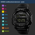 Luxury Men Military Army Digital LED Date Sport Outdoor Electronic Wrist Watches image