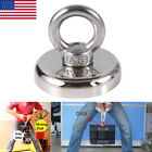 Us 14-112kg Recovery Neodymium Ring River Fishing Salvage Tool Magnet Detecting