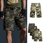 US Men's Camo Cargo Shorts Camouflage loose Short Pants Casual Work SHORTS GIFT