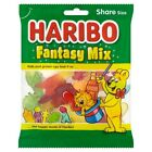 Haribo Fantasy Mix 1 or 12 x Bags Kid Candy Fruit Cola Flavour & Sweet Foam Gums