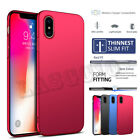 Phone X Case Cover Ultra Slim Glossy PC Shockproof Back Skins for Phone 7 8 Plus