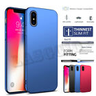 Luxury Ultra Thin Slim Glossy PC Back Case Cover Skins for Phone X 7 8 Plus 7 8G