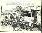 1972 Press Photo Tent City for Managua earthquake victims - now21144