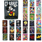"New Entertainment Characters Super Soft Plush Large Throw Blanket 46""x60"" image"