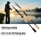 Внешний вид - Ultralight Spinning Rod Telescopic Angling Fishing Pole Super Hard Carbon Fiber