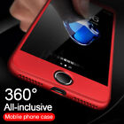 360 Full Protective Cover iPhone Case with glass