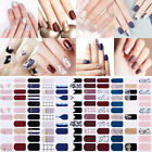 Full Nail Wraps Mixed Patterns Adhesive Transfer Stickers Nail Art Decoration