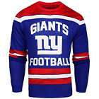 NFL New York Giants Football Men's Sweater Small Glow in the Dark Ugly Christmas $27.99 USD on eBay