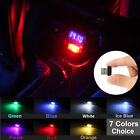 Mini USB LED Car Interior Light Neon Atmosphere Ambient Lamp Bulb Accessories