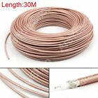 30m RG142 RF Coaxial Cable Connector 50ohm M17/60 RG-142 Coax Pigtail 98ft PY