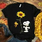 Sn00py Sunflower You Are My Sunshine Ladies T-Shirt Cotton S-3XL