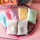 Warm colors snow mud particles accessories tiny foam bead slime ball supplies CH