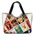 Shoulder Bag Playboy Handbag Woman Shopping Bag Eco-Leather Shopper Women