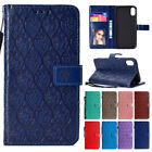 Retro Leather Wallet Case Flip Stand For iPhoone XS MAX/XR Shockproof Card Cover