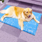 Large Dog Cool Gel Mat Pet Chilly Summer Cool Gel Bed Heat Relief Pad Cooler New
