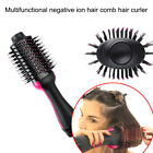 Hair Dryer and Volumizer One Step Curling Oval Brush Design with Mixed Bristles