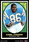 1967 Topps #75 Earl Faison Dolphins Indiana 6 - EX/MT $28.0 USD on eBay