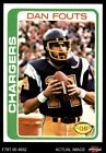 1978 Topps #499 Dan Fouts Chargers Oregon NM/MT $5.0 USD on eBay
