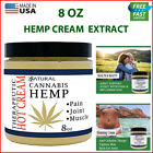 Hemp Cream Extract 8 oz for Muscle Pain Relief , Inflammation Recover Arthritis $26.84 USD on eBay