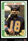 1978 Topps #338 Charlie Joiner Chargers NM/MT $1.75 USD on eBay