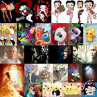 Betty Boop Cartoon DIY 5D Diamond Painting Craft Arts Home Mural Decor Gifts GOT £5.49 GBP on eBay
