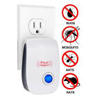2019 Ultrasonic Pest Repeller Control Electronic Repellent Mice Rat Reject US