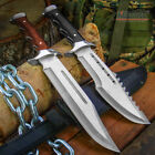"""15"""" FULL TANG FIXED BLADE SURVIVAL FISHING HUNTING CAMPING BOWIE KNIFE"""