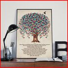 Twenty One Pilots Trees Lyrics Bird Heart Portrait Paper Poster Without Frame