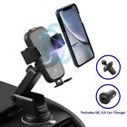 Cobble Pro Qi Wireless Car Charger with QC 3.0 Car Charger Phone Holder & QC 3.0
