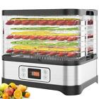 Stackable Trays Food Dehydrator Machine Electric Multi-layer Food LZC
