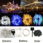 Led String Fairy Lights Garden Xmas Tree Outdoor Indoor Party Wedding Home Decor
