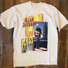VTG 90s Alan Jackson  Country Music Band T Shirt Gildan image