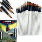 Внешний вид - 12pcs Artist Paint Brushes Set Acrylic Oil Watercolour Painting Craft Art Kit