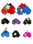 Kids Boys  Girls Character Gloves Mittens 1 PAIR Unisex CHOOSE
