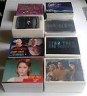 Complete Star Trek Trading Card sets TOS TNG Voyager Movies 50th Anniversary etc on eBay