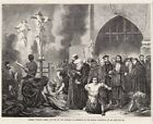 Robert Fleury Burning of Heretics Roman Catholic Inquisition Auto Da Fe 1860