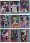 2019 Topps Chrome Baseball Pink Refractor U Pick Cards ~ Buiy 5 Get 2 FREE!