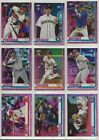 2019 Topps Chrome Baseball Pink Refractor U Pick Cards ~ Buiy 5 Get 2 FREE! on Ebay