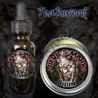 Devil's Mark Odin Beard Balm Beard Oil by Triple Six Artistry Teakwood