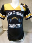 9808 Ladies SAN DIEGO CHARGERS Motherhood MATERNITY Football Jersey Shirt $3.99 USD on eBay