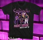 New Cinderella Night Songs 1986 Tour Mens Vintage Classic T-Shirt image