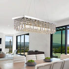 Modern-Rectangle-K9-Crystal-Pendant-Light-Ceiling-Lamp-Home-Chandelier-Lighting