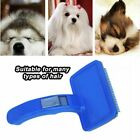 Pet Hair Brush Self Cleaning Dog Puppy Cat Kitten Comb Grooming Rabbit OR