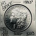 1883 S MORGAN SILVER DOLLAR HI GRADE GENUINE U.S. MINT RARE KEY COIN 8223