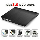 External CD Drive USB 3.0 Portable CD DVD +/-RW Slim DVD/CD Rom Rewriter Burner