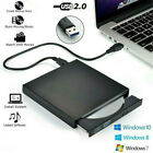 External CD Drive USB 3.0 Portable CD DVD  --RW Slim DVD-CD Rom Rewriter Burner
