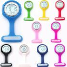 Colorful Multi-function Digital Silicone Rubber Nurse Watch Fob Pocket Watches